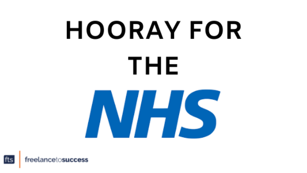 HOORAY FOR THE NHS