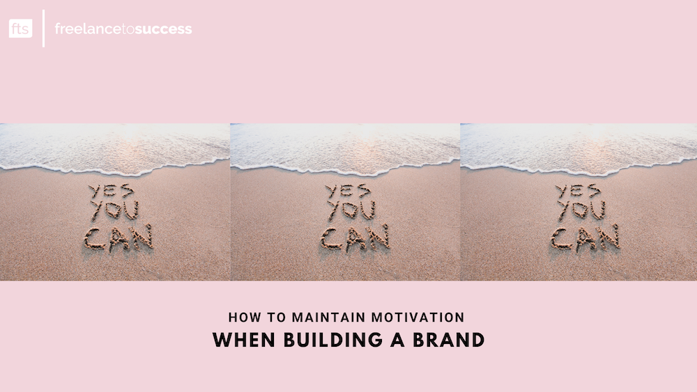 How to maintain motivation